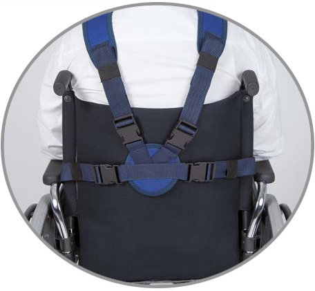 Vest for wheelchair (CLIP closure)