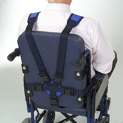 Clip Bodice With Crotch Strap For Armchair Or Wheelchair