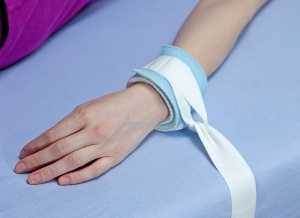 Wristband with textil ring