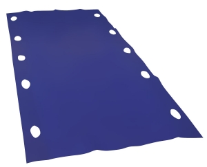 Disposable slide sheet with hand grips