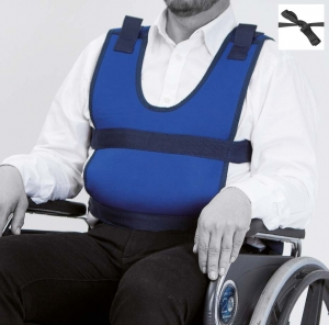 Vest for armchair or wheelchair