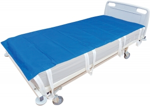 Slide sheets with hand grips for bariatric use
