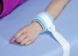 Wristband with nylon ring