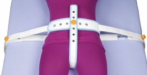 Abdominal safety belt with perineal band